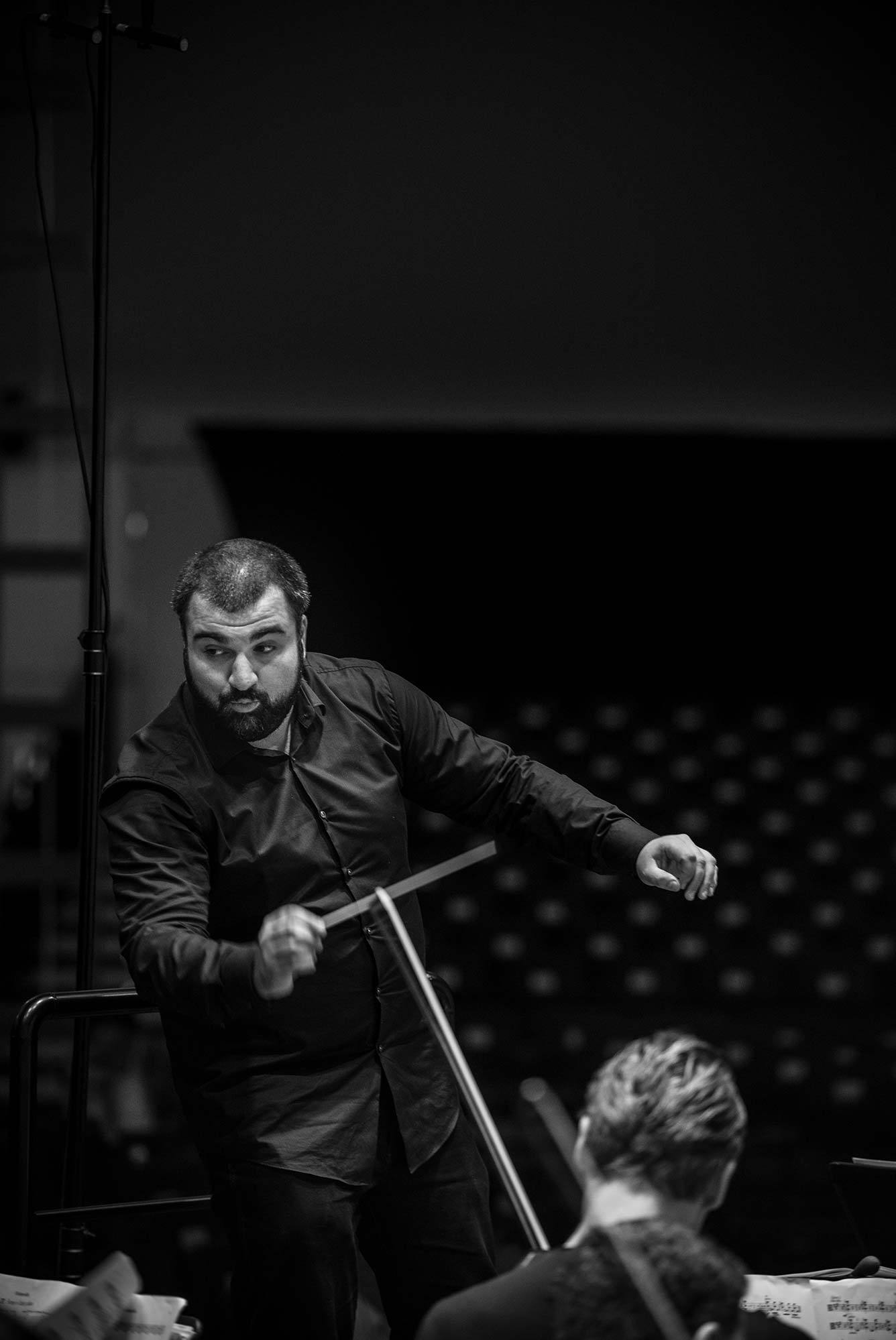 Georgios Balatsinos @ Menuhin Academy (copyright: Anne Laure Lechat)